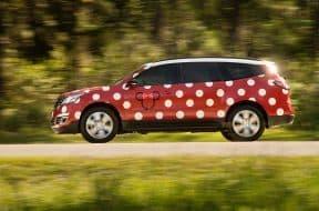 Minnie vehicles at Disney World