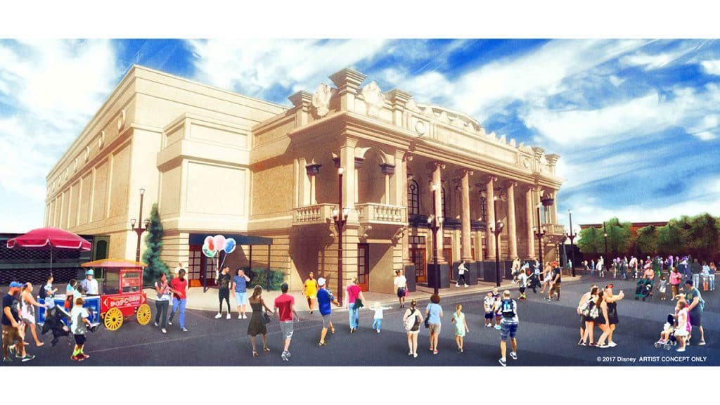 Main Street, USA theater coming to Magic Kingdom concept art