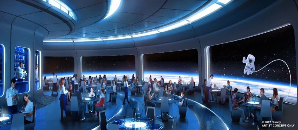 Epcot's new space-themed restaurant