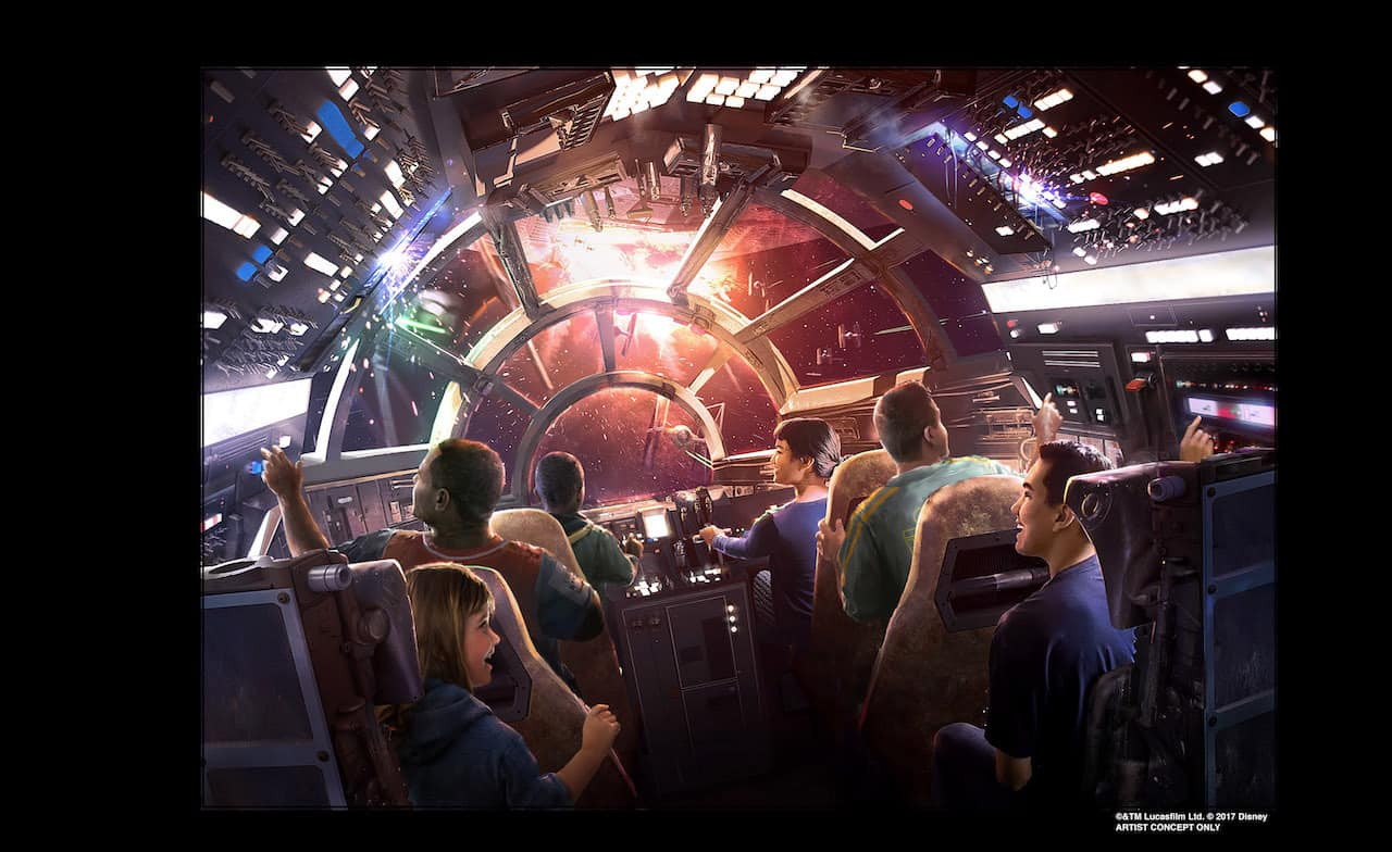 Star Wars: Galaxy's Edge details revealed