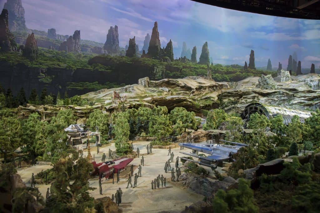 Star Wars Land Resistance Base