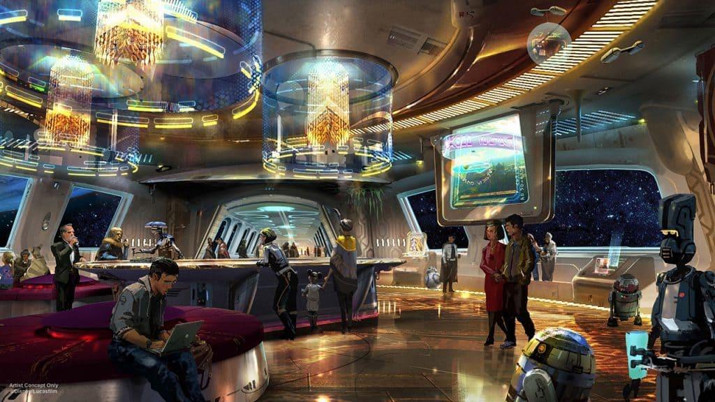 Star Wars hotel at Walt Disney World