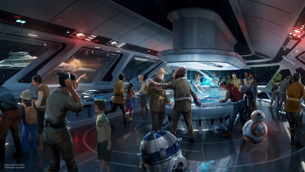 Star Wars hotel at Walt Disney World