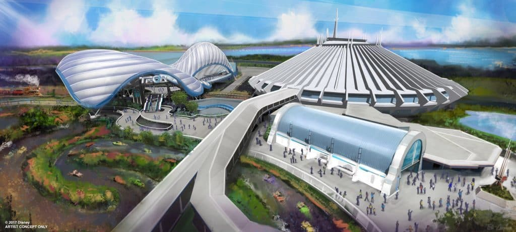 Tron Coaster coming to Disney's Magic Kingdom