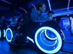 Tron Lightcycle Power Run ride vehicle