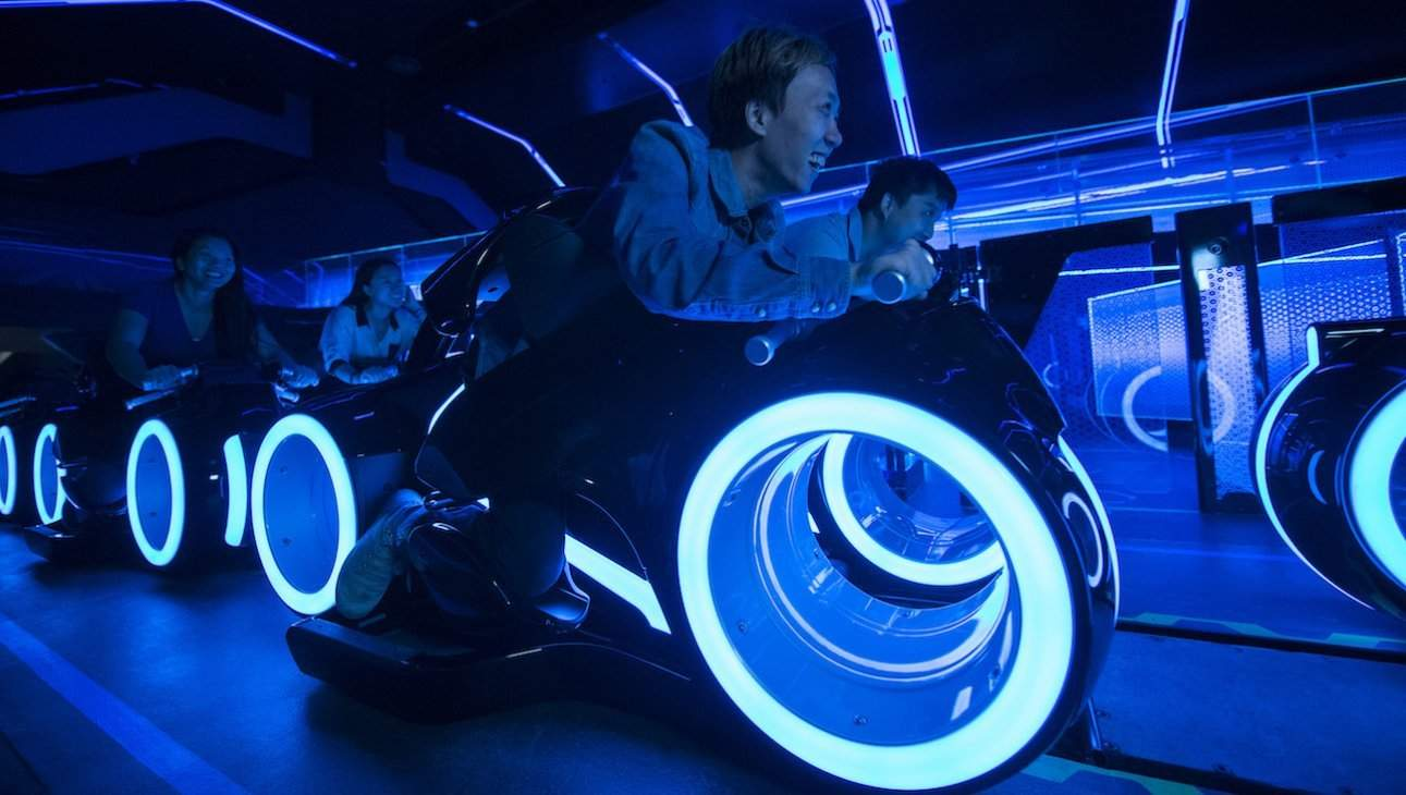 Tron coaster coming to Disney World?