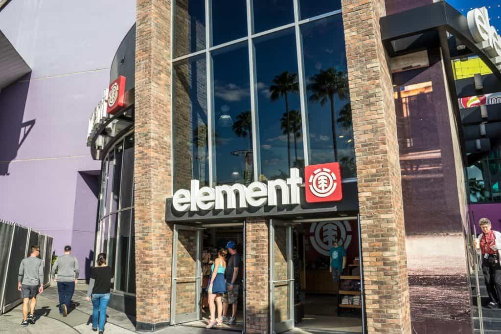 Element Store at Universal CityWalk Orlando