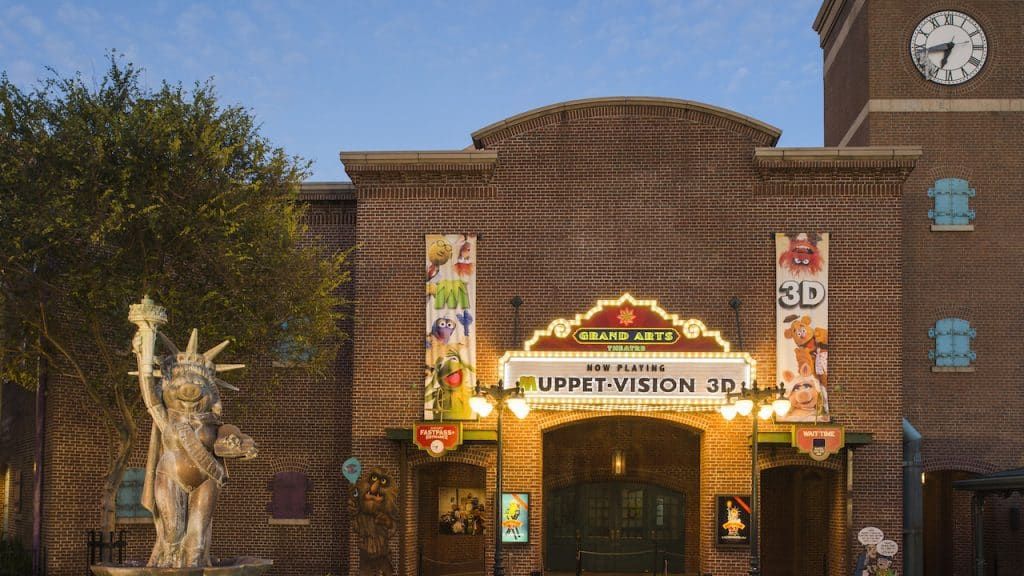 Grand Avenue's Grand Arts Theater, home to Muppet Vision 3D