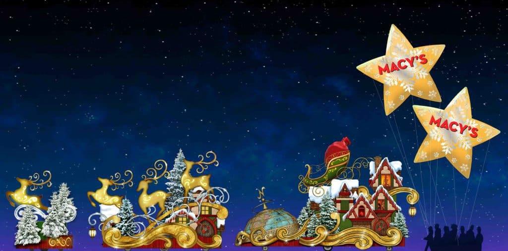 Santa Claus at Universal's Holiday Parade Featuring Macy's 2017