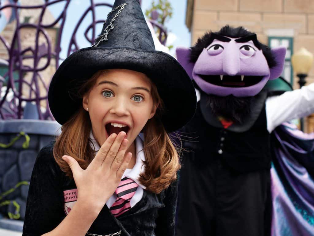 SeaWorld's Halloween Spooktacular 2017 Sesame Street