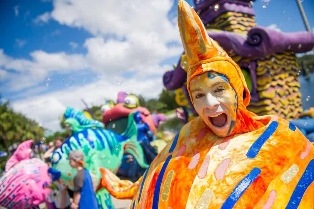 SeaWorld's Halloween Spooktacular 2017 under-the-sea characters