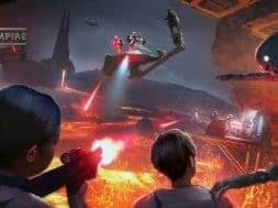 """Star Wars: Secrets of the Empire"" concept art"