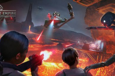 """Star Wars: Secrets of the Empire"" concept art"