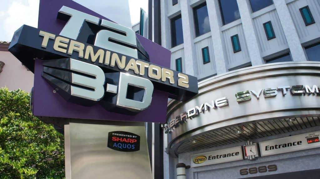 Terminator 2 3D at Universal Studios Florida