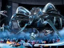 Terminator 2 3D: Battle across Time at Universal Studios Florida promotional art