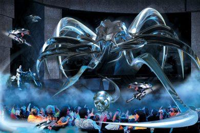 Terminator 2 3D: Battle across Time at Universal Studios Florida promotional art