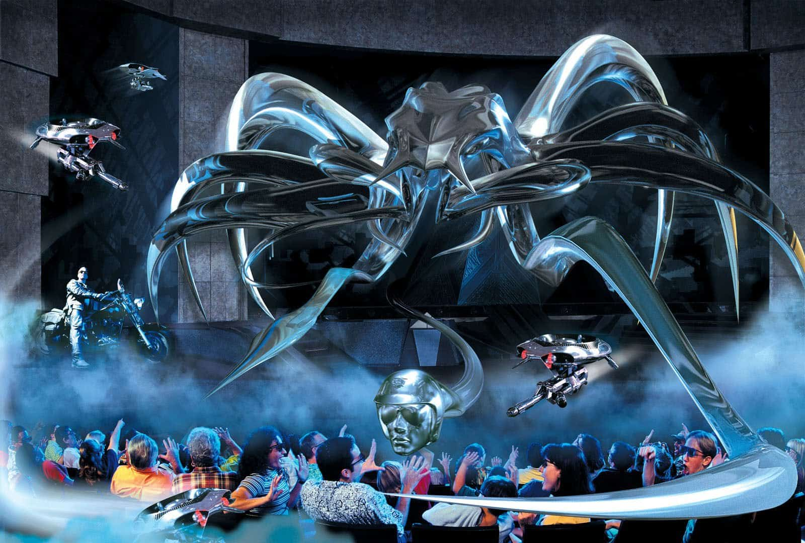 Terminator 2 3D closing for a new attraction