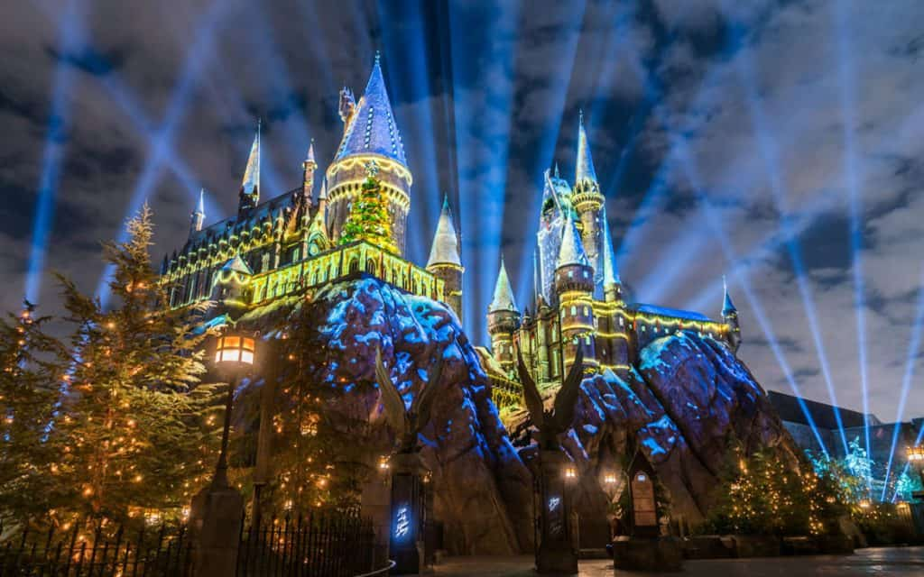 The Magic of Christmas at Hogwarts Castle at Islands of Adventure