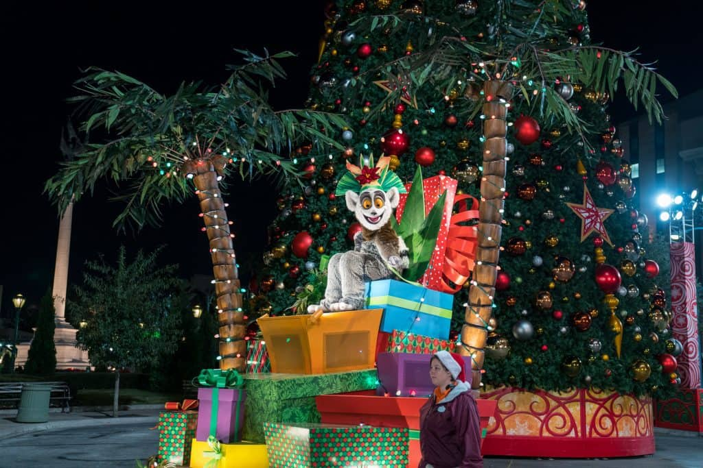 Madagascar at Universal's Holiday Parade Featuring Macy's