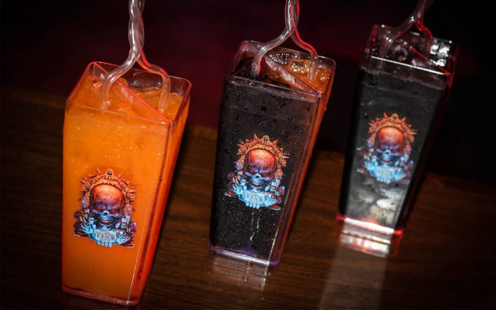 2017 event drinks at Universal Orlando's Halloween Horror Nights