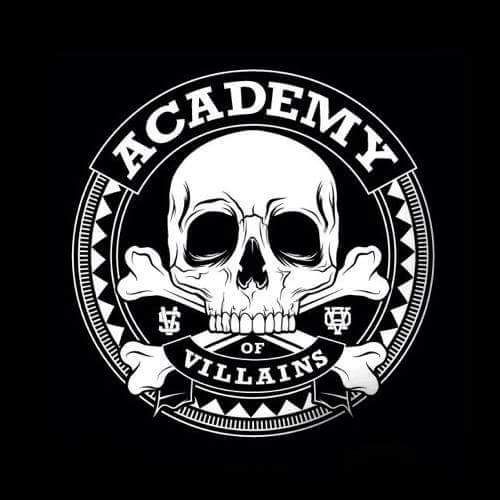 Academy of Villains logo