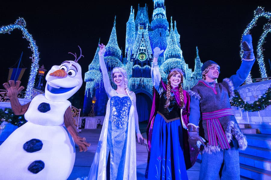 Frozen Holiday Wish at Magic Kingdom