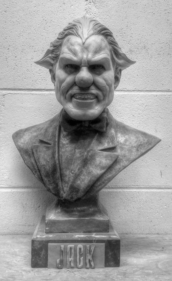 Jack the Clown exclusive bust at Williams of Hollywood