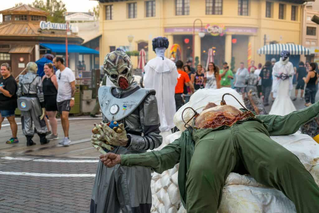 Invasion at Universal Orlando's Halloween Horror Nights 2017
