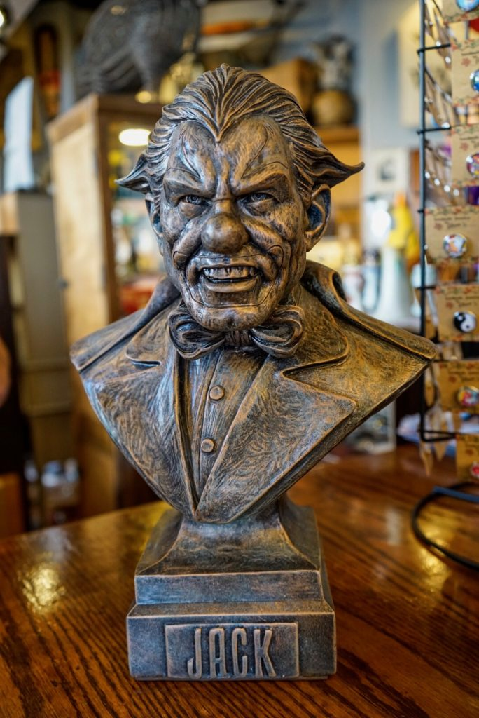 Exclusive Jack bust at Williams of Hollywood 2017