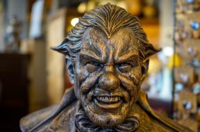 Jack bust at Williams of Hollywood 2017