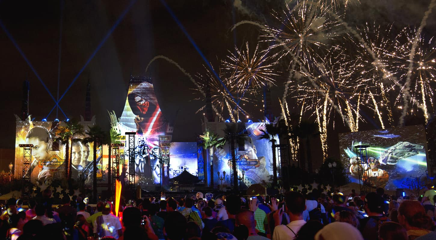 Disney's new biannual Star Wars party