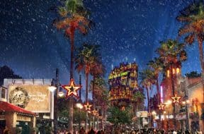 Sunset Season's Greetings at Disney's Hollywood Studios
