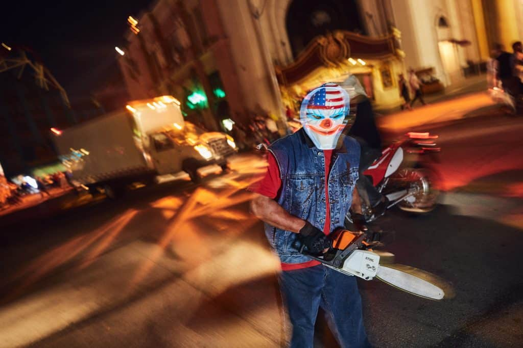 The Purge at Universal Orlando's Halloween Horror Nights 2017