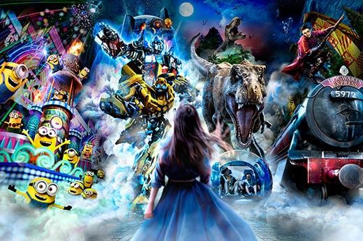 Universal Spectacle Night Parade at Universal Studios Japan