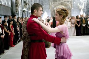 Viktor Krum dancing with Hermione Granger in Harry Potter and the Goblet of Fire