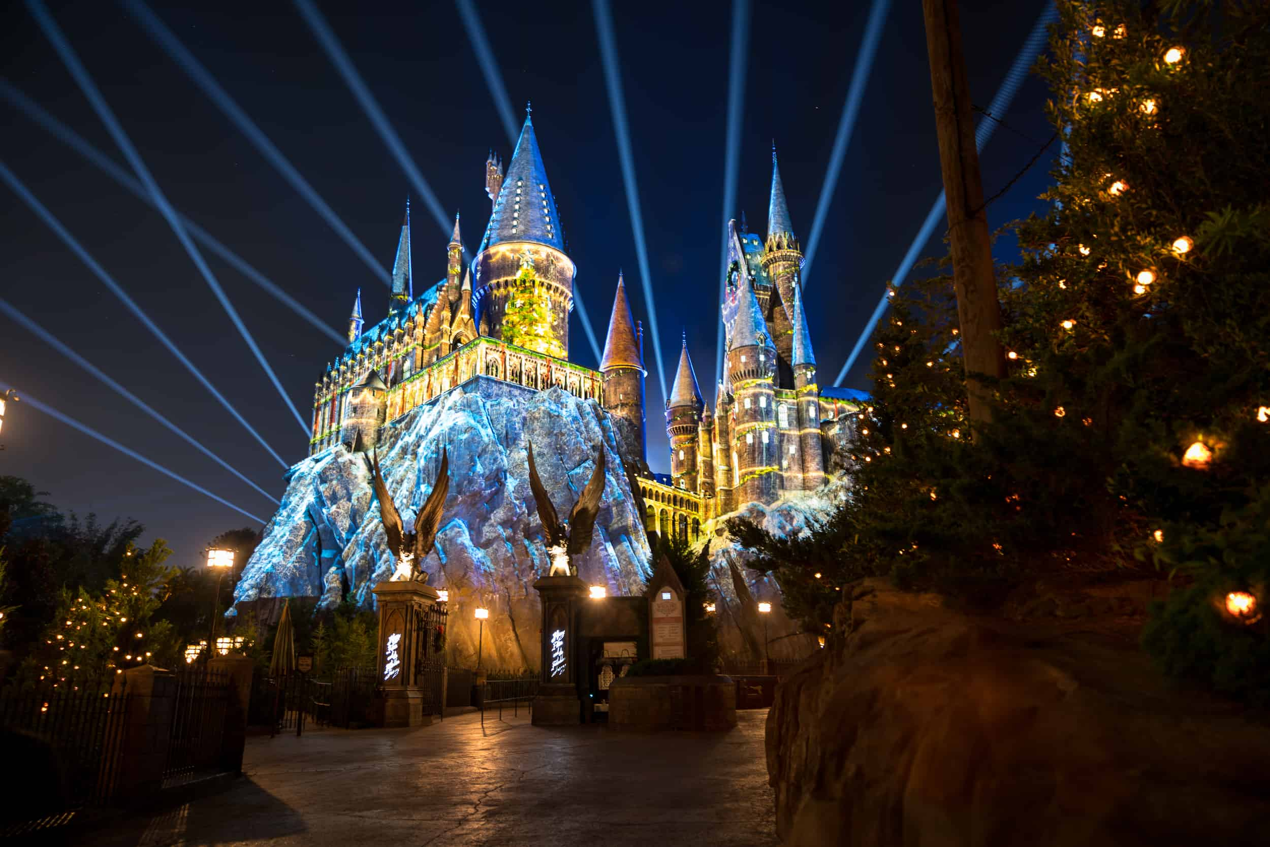 review christmas at the wizarding world of harry potter