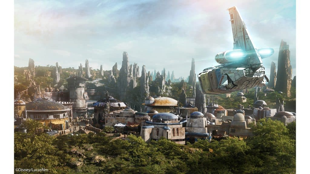 Batuu from Star Wars: Galaxy's Edge