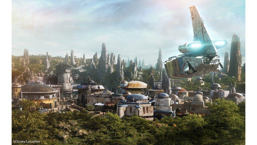 Batuu from Star Wars: Galaxy's Edge