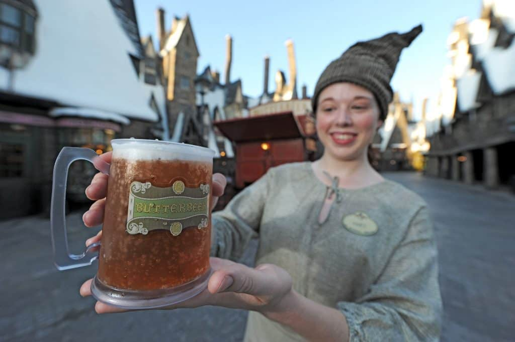 Butterbeer at Unviersal's Wizarding World of Harry Potter