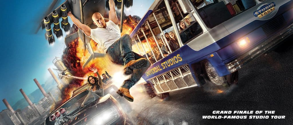 Fast & Furious: Supercharged at Universal Studios Hollywood