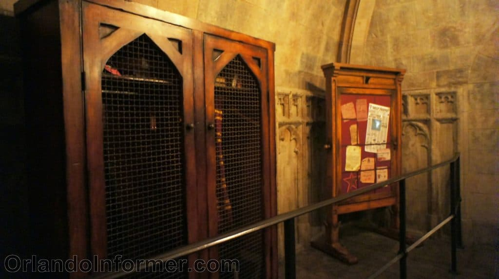 Harry Potter and the Forbidden Journey queue