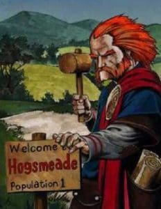 Hengist of Woodcroft from Harry Potter