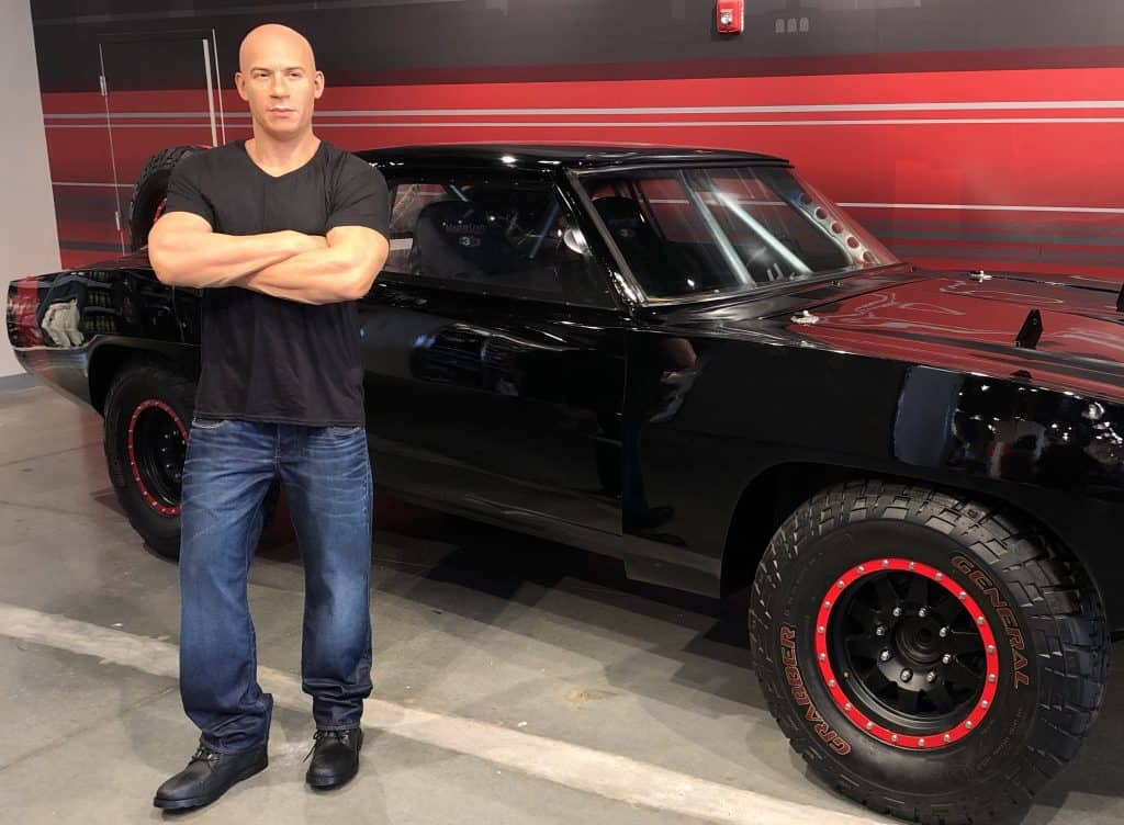 Vin Diesel at Fast and Furious: Supercharged