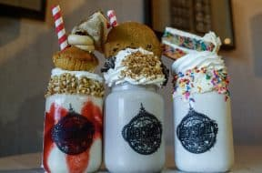 Three new milkshakes at Toothsome Chocolate Emporium