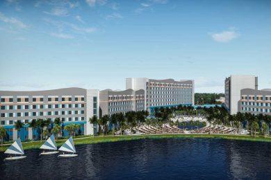Universal's Endless Summer Resort concept art