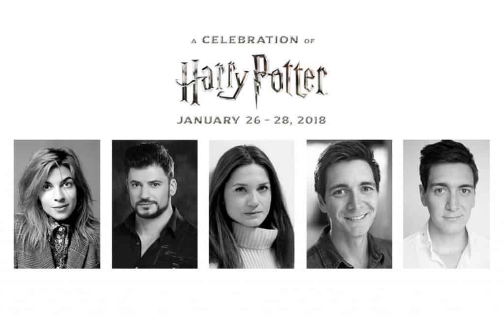 A Celebration of Harry Potter 2018 film talent roster