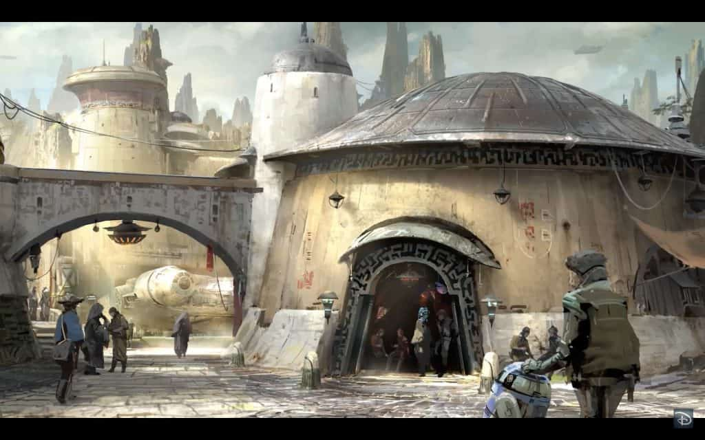 Star Wars: Galaxy's Edge at Hollywood Studios concept art