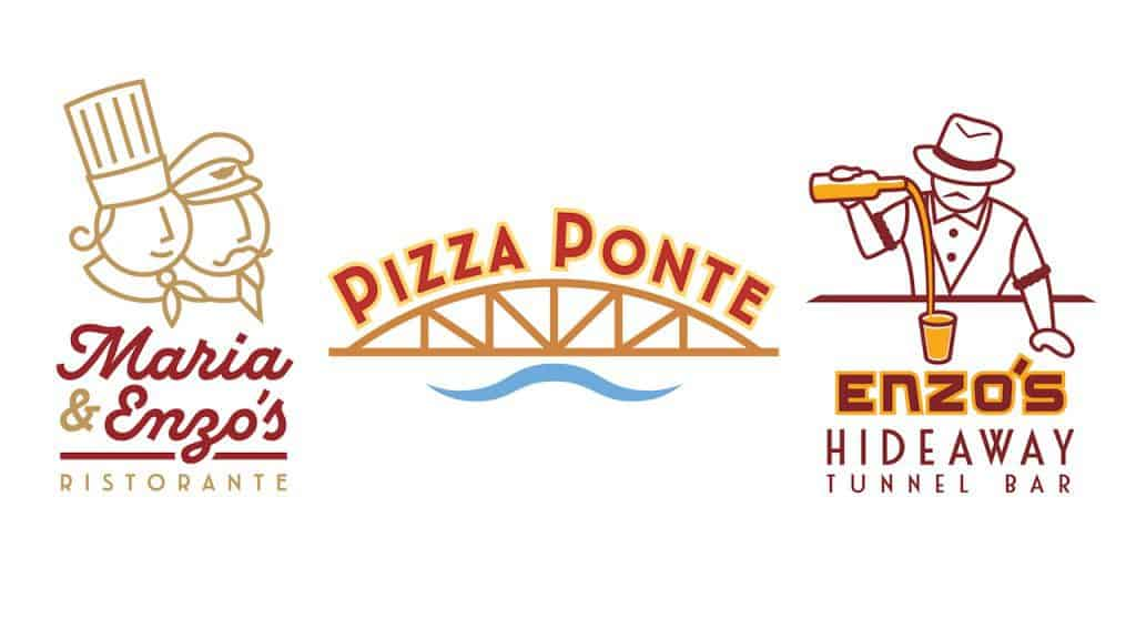 Maria & Enzo's logos