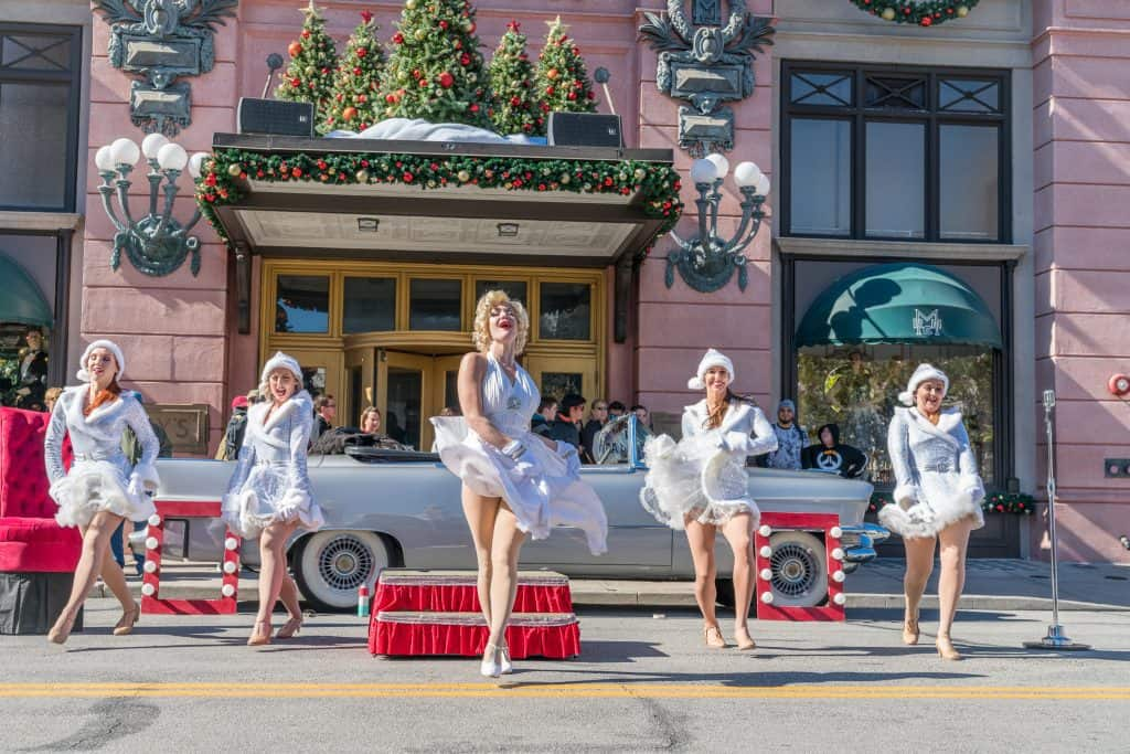 Marilyn Monroe holiday show at Universal Studios Florida
