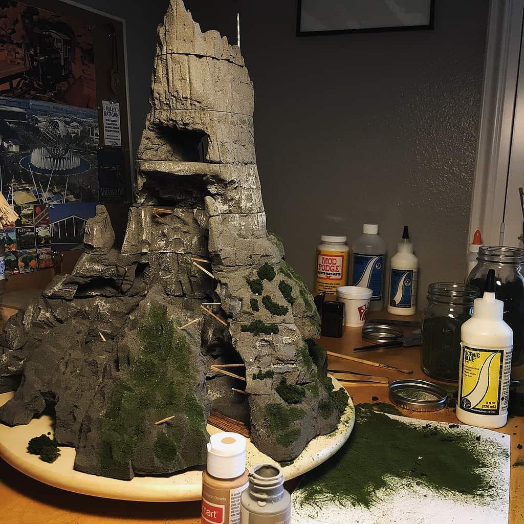 Universal's Volcano Bay Kolby model